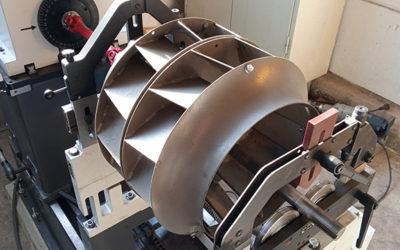 Inbetriebnahme unserer neuen Wuchtmaschine